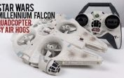 Air Hogs RC Star Wars Millennium Falcon Quadcopter Drone Review