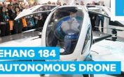 Ehang 184 Autonomous Manned Vehicle Drone | CES 2016