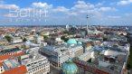 Drone view of Berlin in 4K