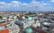 Drone view of Berlin in 4K