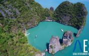 Thailand from the air in 4K
