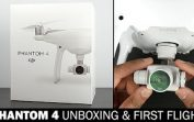 DJI Phantom 4 Drone Review, Unboxing and First Flight Test