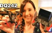 DQ242G 5.8Ghz FPV RTF Drone Review Unboxing Flight