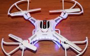DFD F183 Drone 6 Axis 2.4G 4CH RC Quadcopter with Camera LCD Display