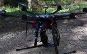 DRONE MODELS 974 Test DJI S800 nacelle AV200 CANON 5D Mark
