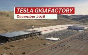 TESLA GIGAFACTORY December 2016 Construction Update 4K