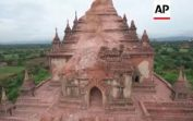 Myanmar – Drone films monuments damaged by quake | Editor's Pick | 26 August 16